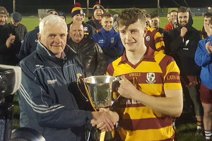Tailteann Cup Final: Carnaross finish off year with silverware