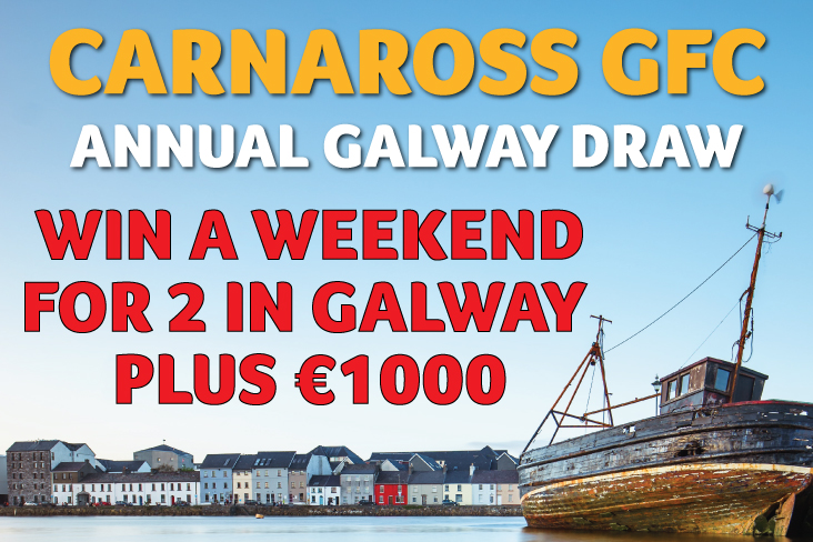 "Win a ""Staycation"" in Galway plus €1000"