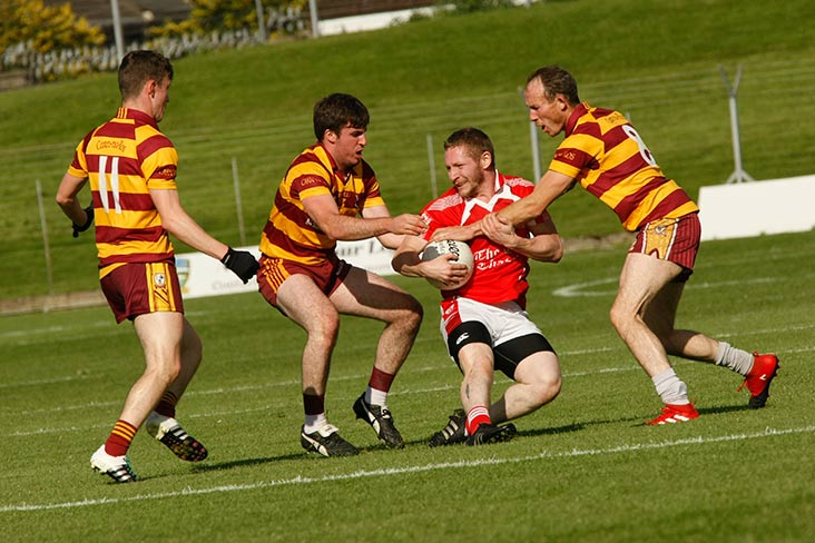 JFC R3: Carnaross record comfortable win over Drumconrath